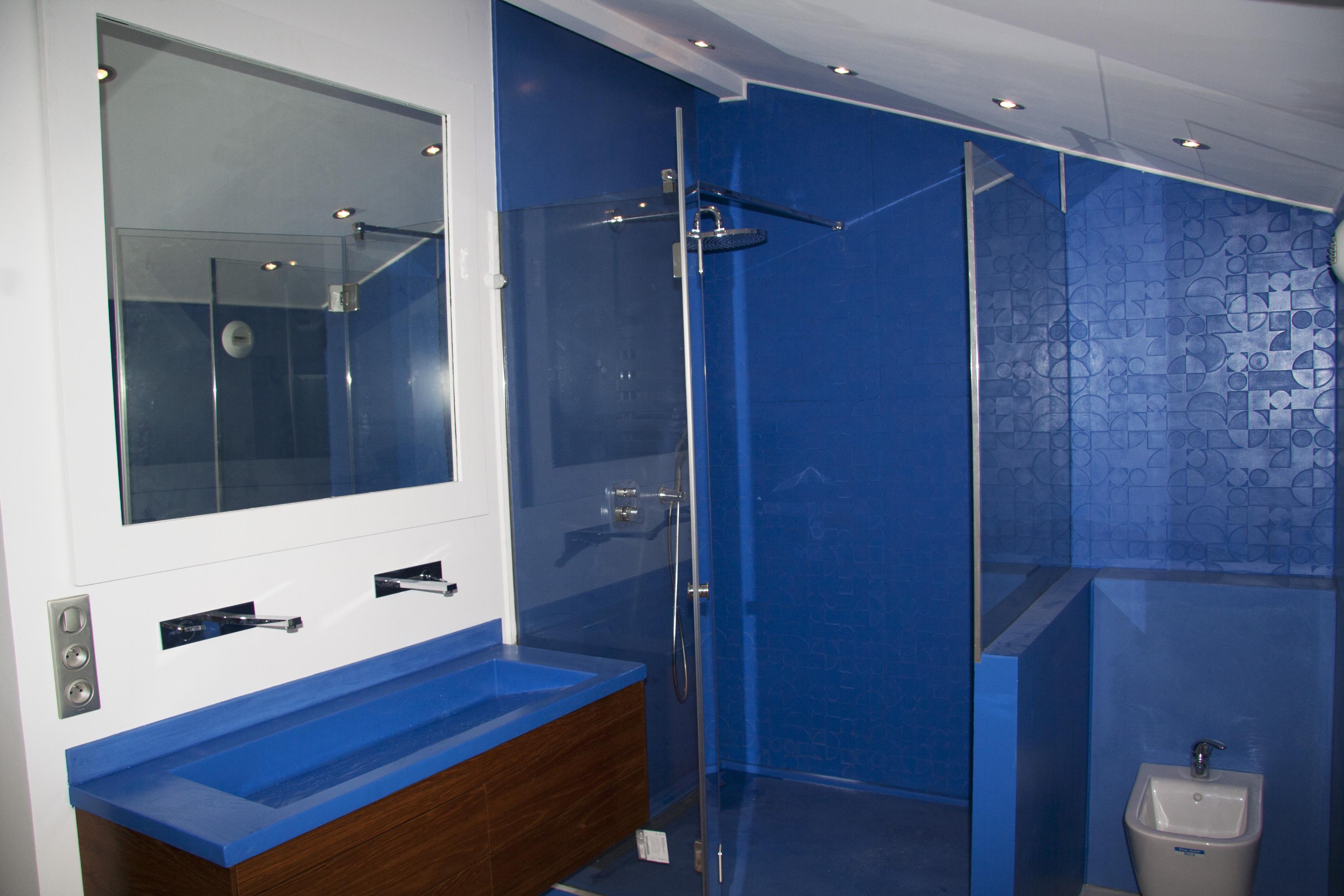 Picture of BLUE CONCRETE Bathroom