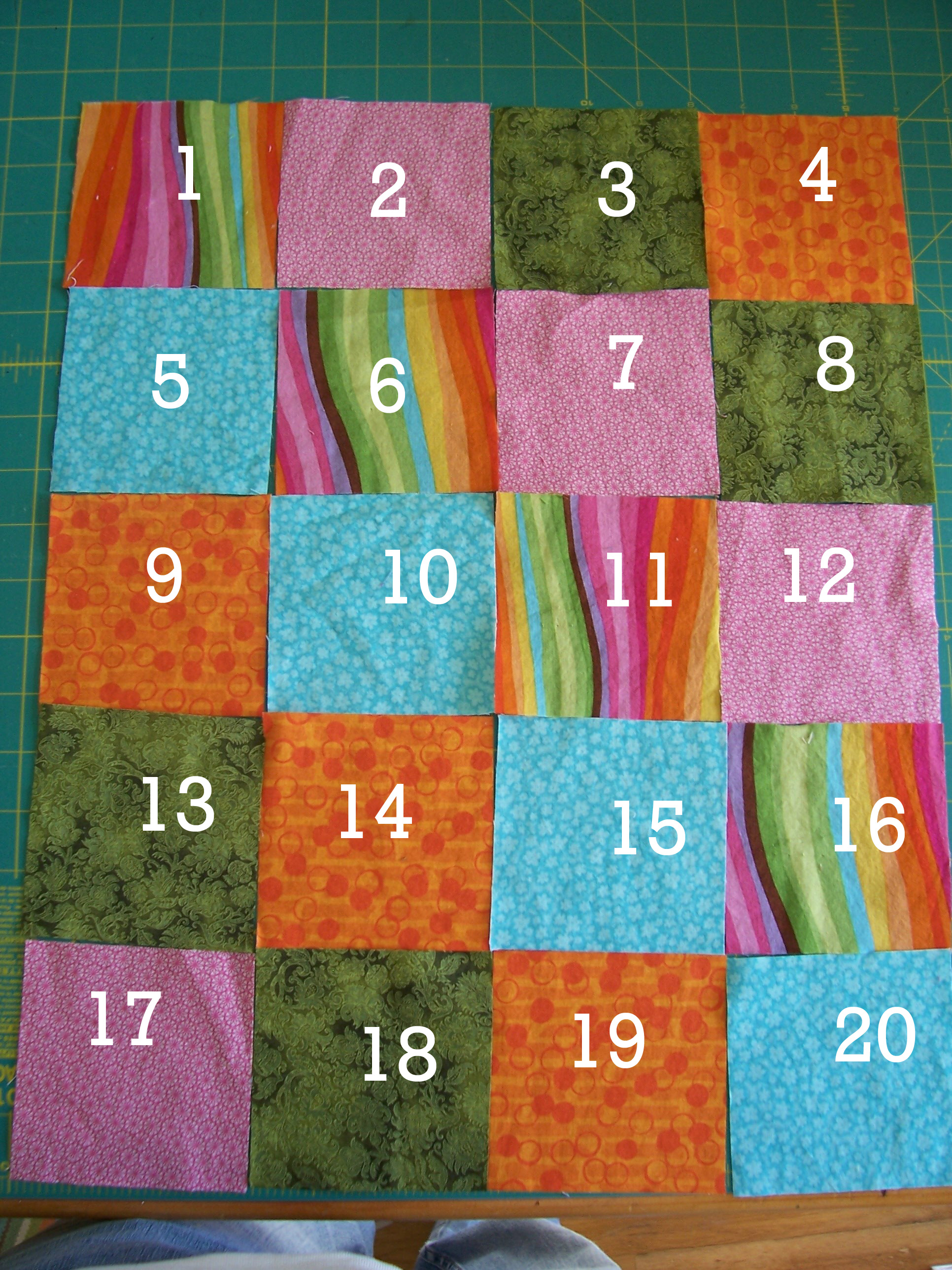 Picture of Decide on a Layout for Your Quilt Top