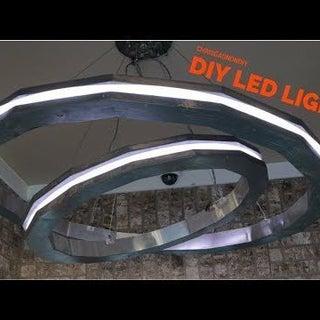 Rings of Saturn LED Music Visualizing Pendant Light