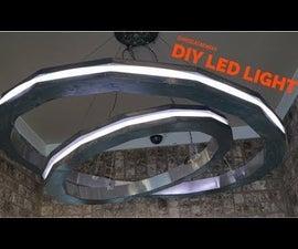 Modern DIY LED Rings of Light