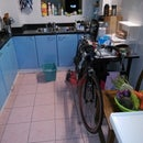 Zen and the Art of Small Apartment Bike Cleaning