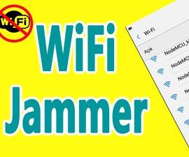 NodeMCU ESP8266 - WiFi Hack With ESP8266 (NodeMCU WiFi Jammer)