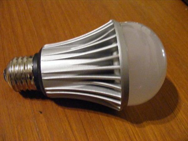 120V LED Bulb on 12VDC, 190MA. the Hack