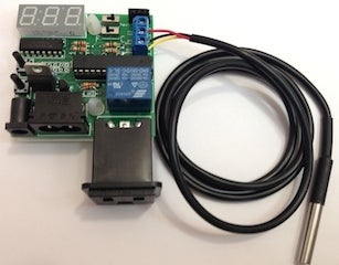 Install the 28-pin AVR Microcontroller