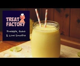 Pineapple, Guava & Lime Smoothie