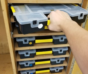Student Art Supply Storage Solution