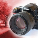 DIY Permanent Infrared DSLR Camera