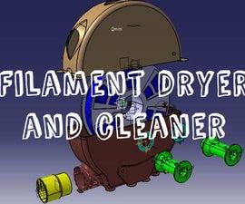 3d printed filament dryer&cleaner