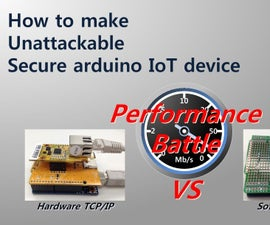 How to make unattackable secure arduino IoT device