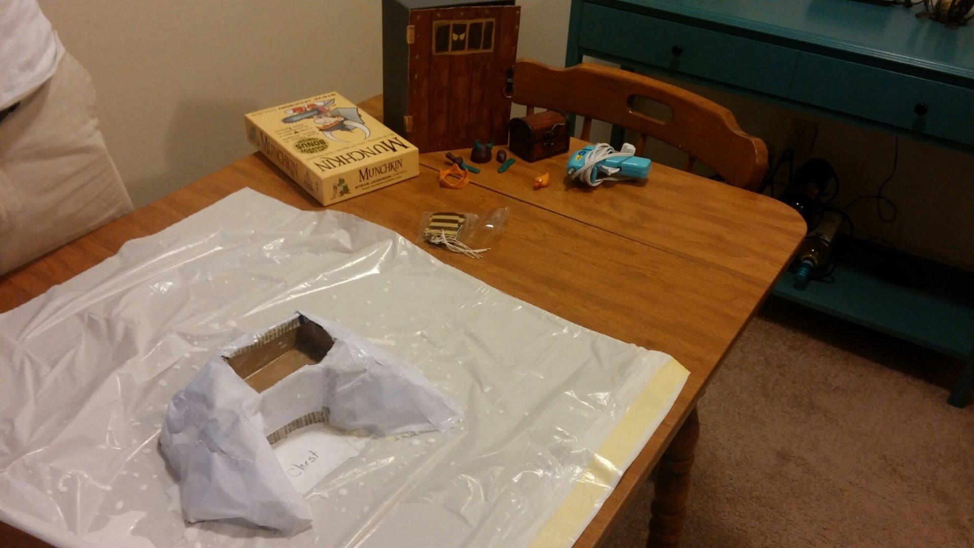 Picture of Step 4:  Paper Mache