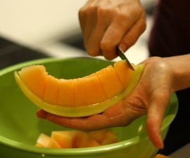 How to Cut a Melon