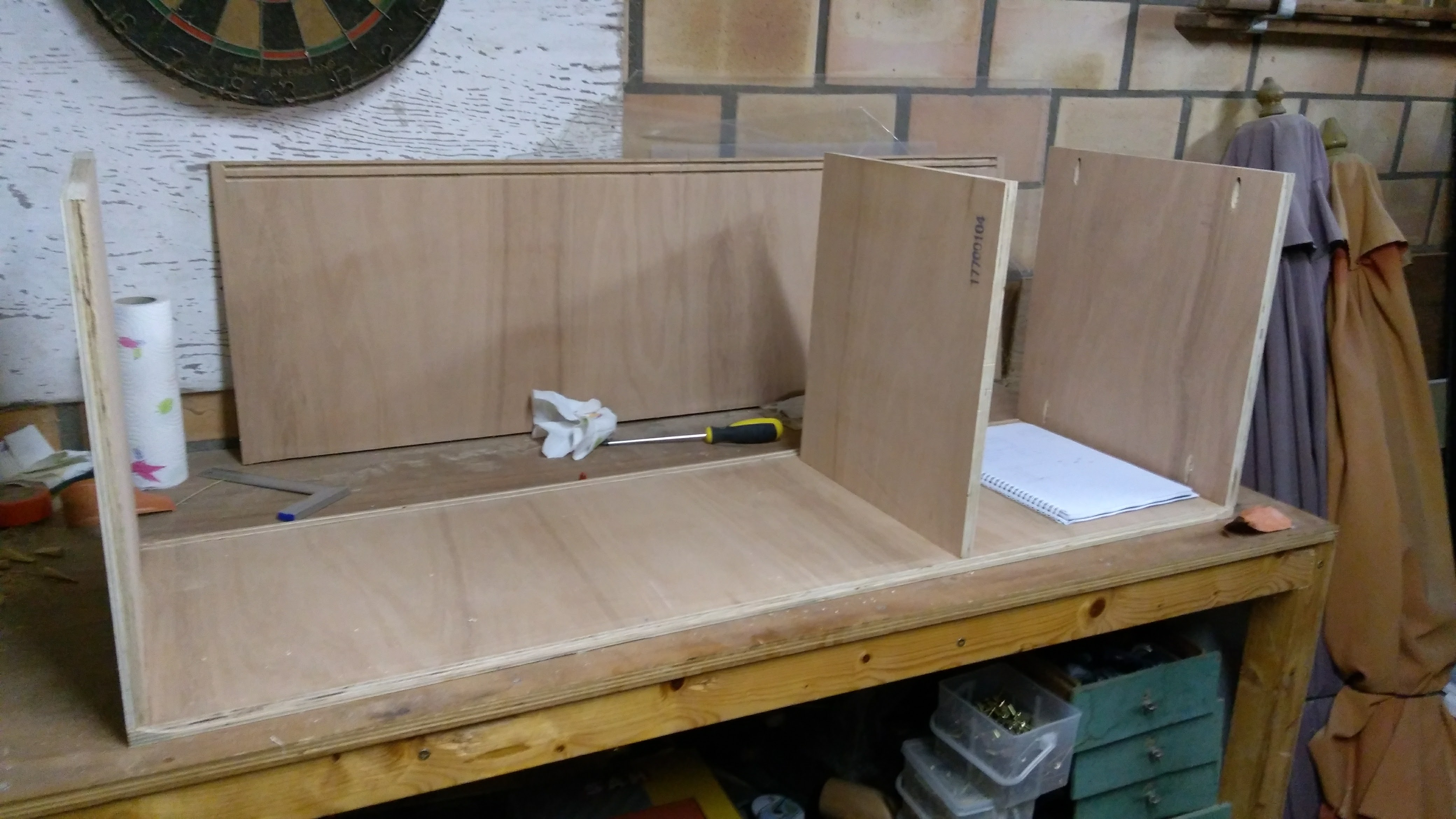 Picture of Assembling the Cabinet