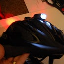 Helmet Bike Light Front and Rear in 30 Mins.