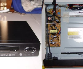 Turn a broken DVD player into an accessory enclosure for your Home Theater PC
