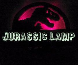 Jurassic DIY Lamp