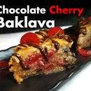 Chocolate Cherry Baklava