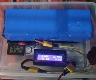 12V Lithium Ion(18650) Battery Pack - 3S10P - 24Ah