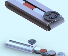 Adjustable Coin Holder Money Clip