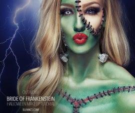 Bride of Frankenstein - SFX Makeup Tutorial