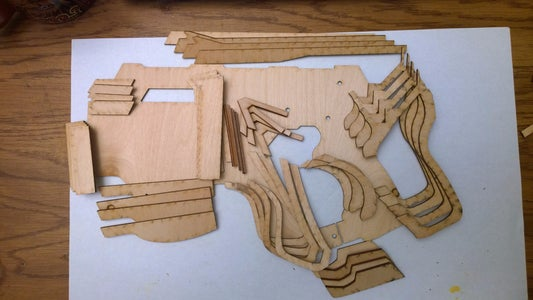 Glue Up the Body Side