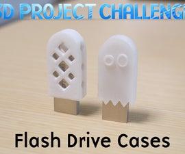3d Project Challenge: Flash Drive Cases