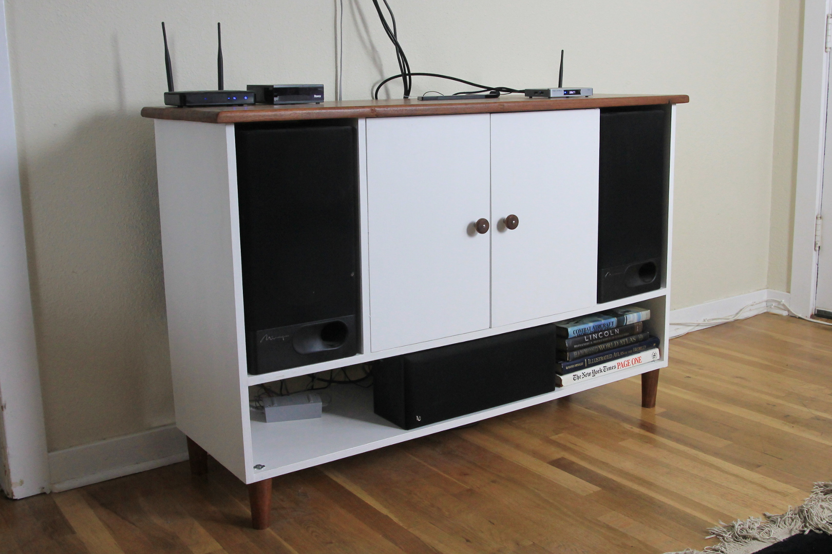 Picture of Building a Hardwood Counter and a Media Stand