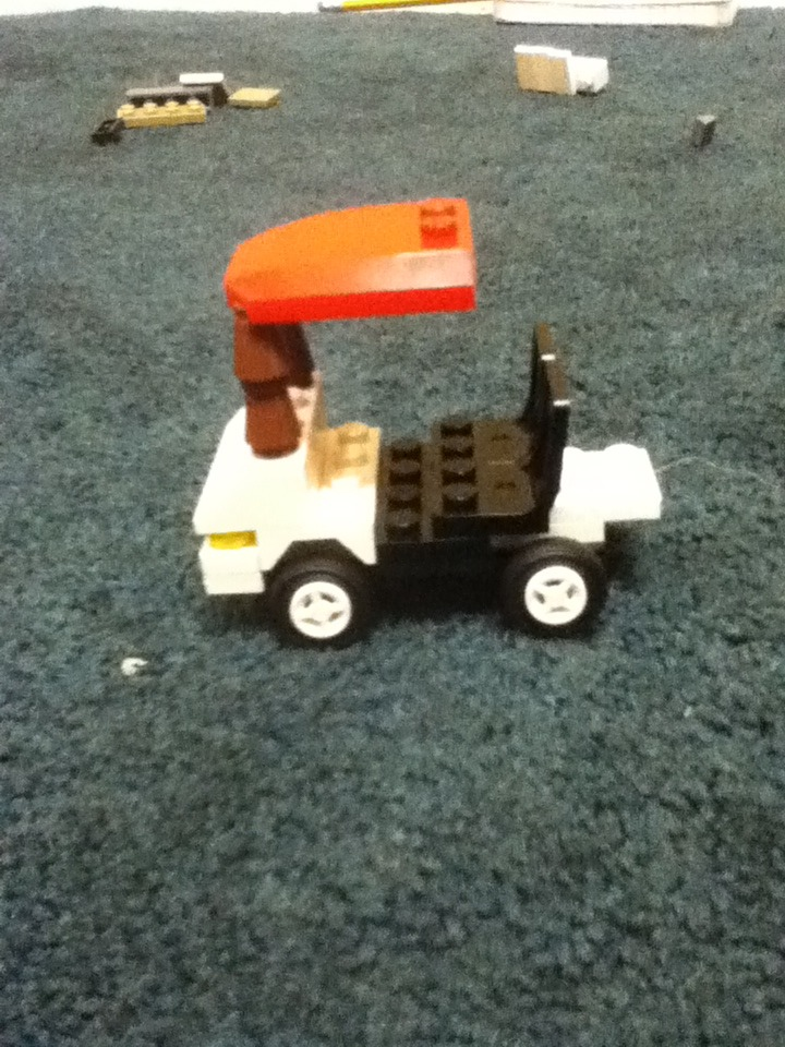 Picture of Lego Golfcart