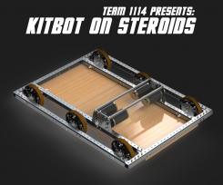 DIY FRC Kitbot on Steroids