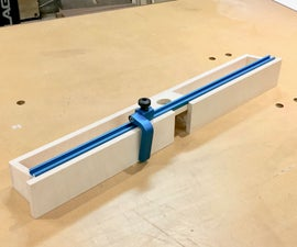 Make It - Adjustable Router Fence