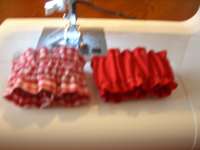 Picture of For Napkin Rings or Scrunchies:
