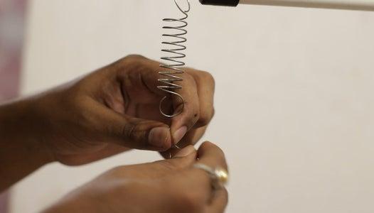 Adding the Ni-chrome Wire