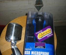 Vintage Microphone Hack for Rock Band
