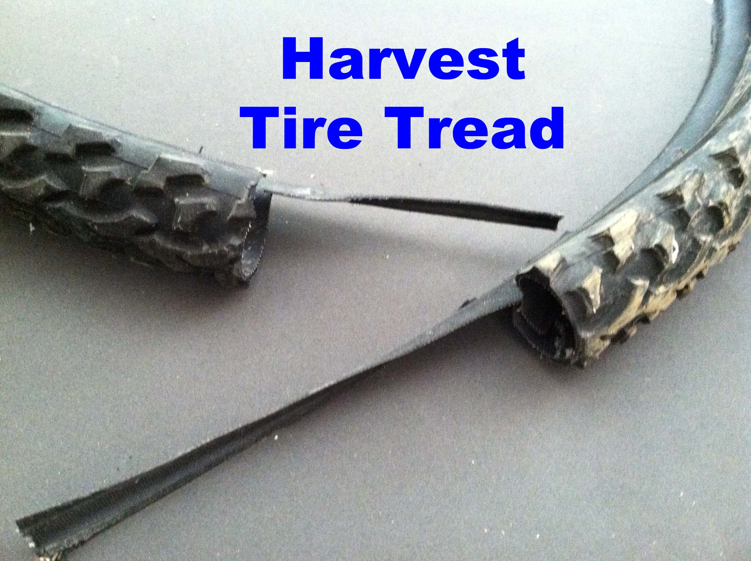 Picture of Attach Rubber Tire Grip to Flippers