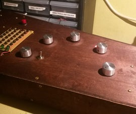 4017 and 555 Sequencer Synth