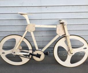 Reproducible Wooden Bike