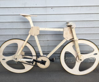 Reproducible Wooden Bike