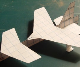 How To Make The Starship Paper Airplane