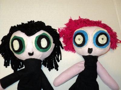 Ask an Engineer Powerpuff Girls Style Puppets