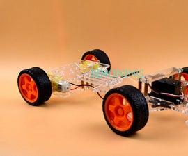 New!Steering smart robot car chassis by Servo FUTABA 3003 SINONING