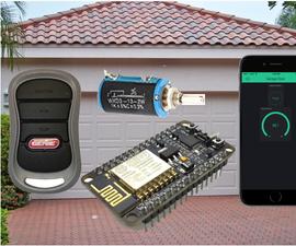 Is the Garage Door Open?  8266, IPhone/Android