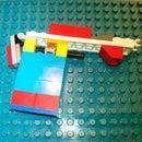 Jen & Tom's Lego Hair tie /  Rubber band gun