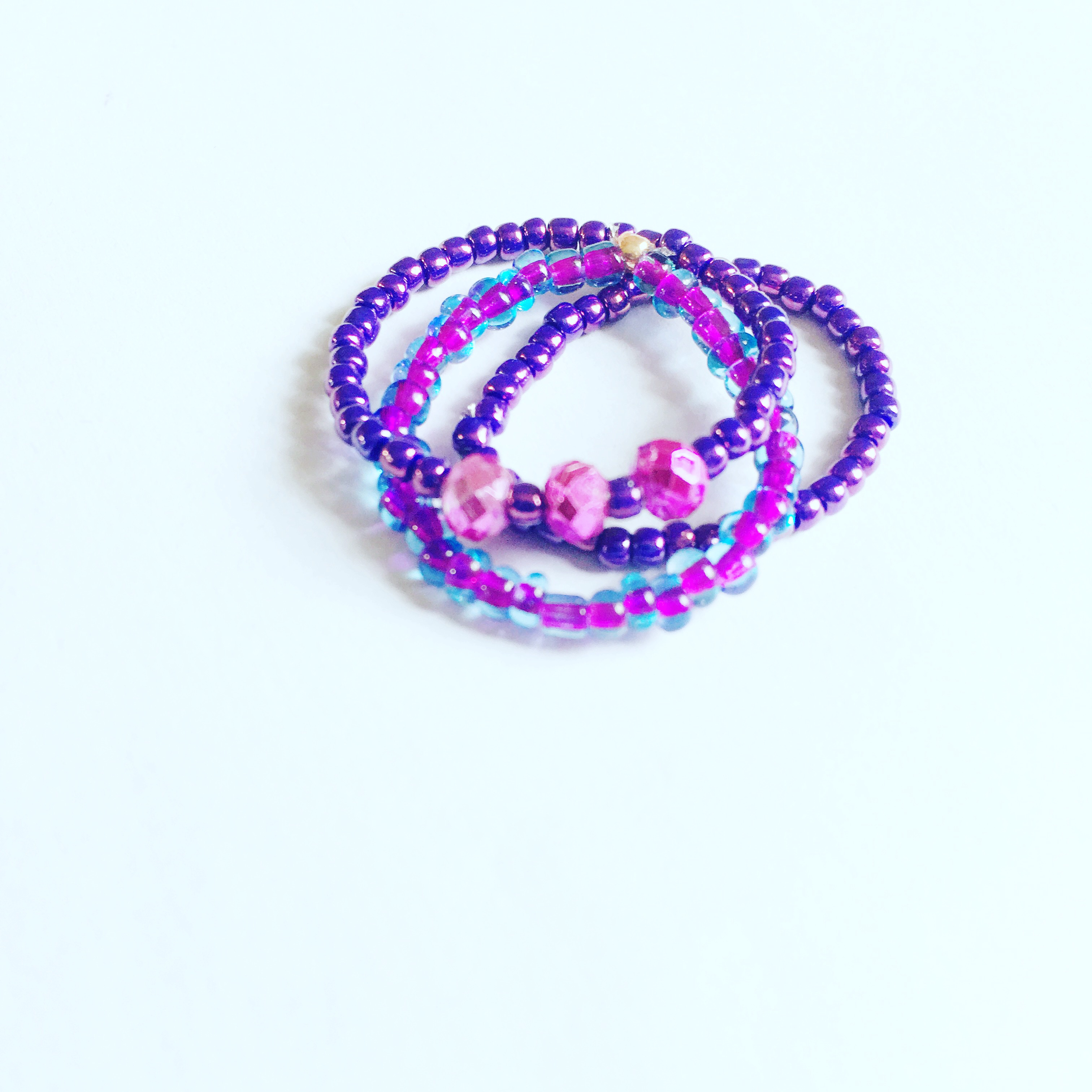 Picture of Simple Seed Bead Rings