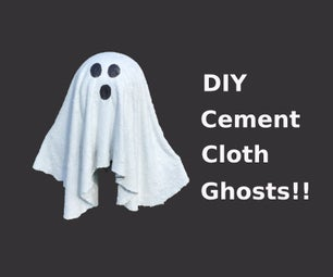 Cement Cloth Ghosts !!