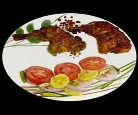 Tandoori Chicken in Oven
