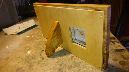 Add a Back Cover With a Stand and Oil/Varnish Everything