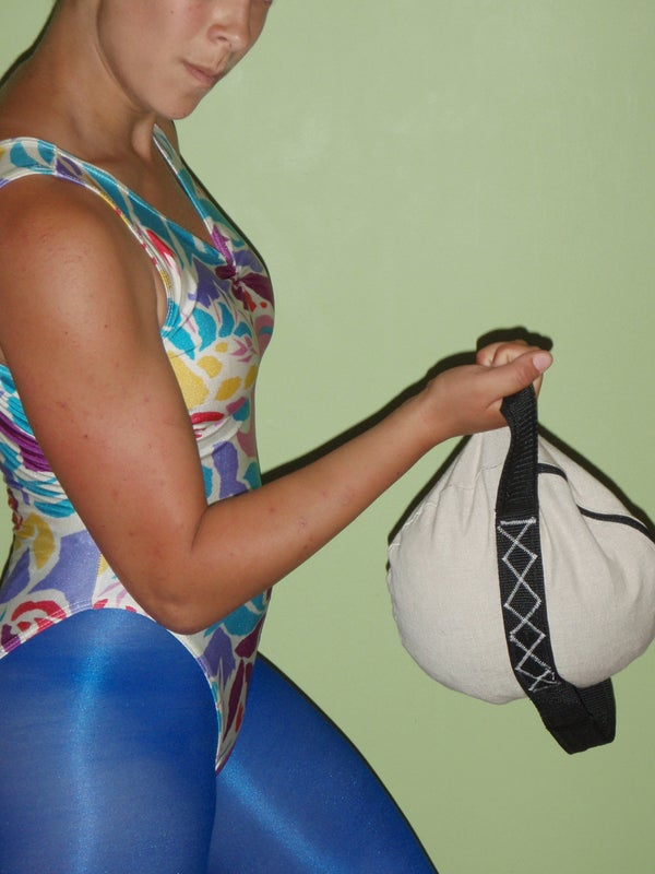 Improve Strength, Tone Muscle, and Increase Flexibility + Explosiveness: Dual-Handle Weight Bag