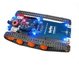 DFRobotShop Rover w/Xbee and Joystick