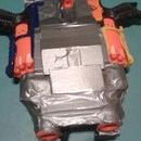 Nerf Heavy Machine gun(Barricade modification)