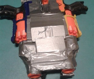 Nerf Heavy Machine Gun(Barricade Modification)