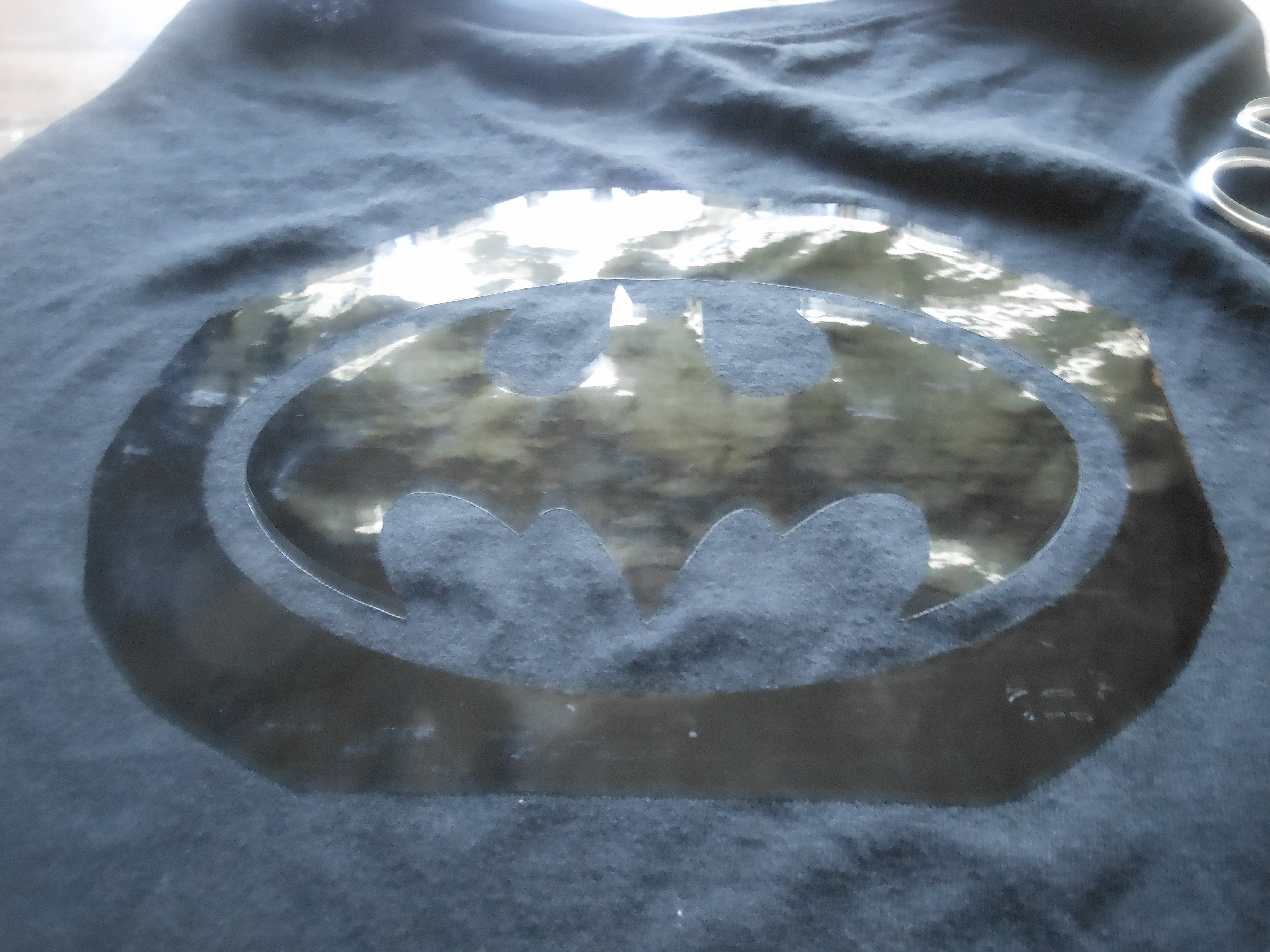 Picture of Super Hero Cape From a T-shirt
